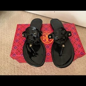 Black Tory Burch Sandals Women's size 8